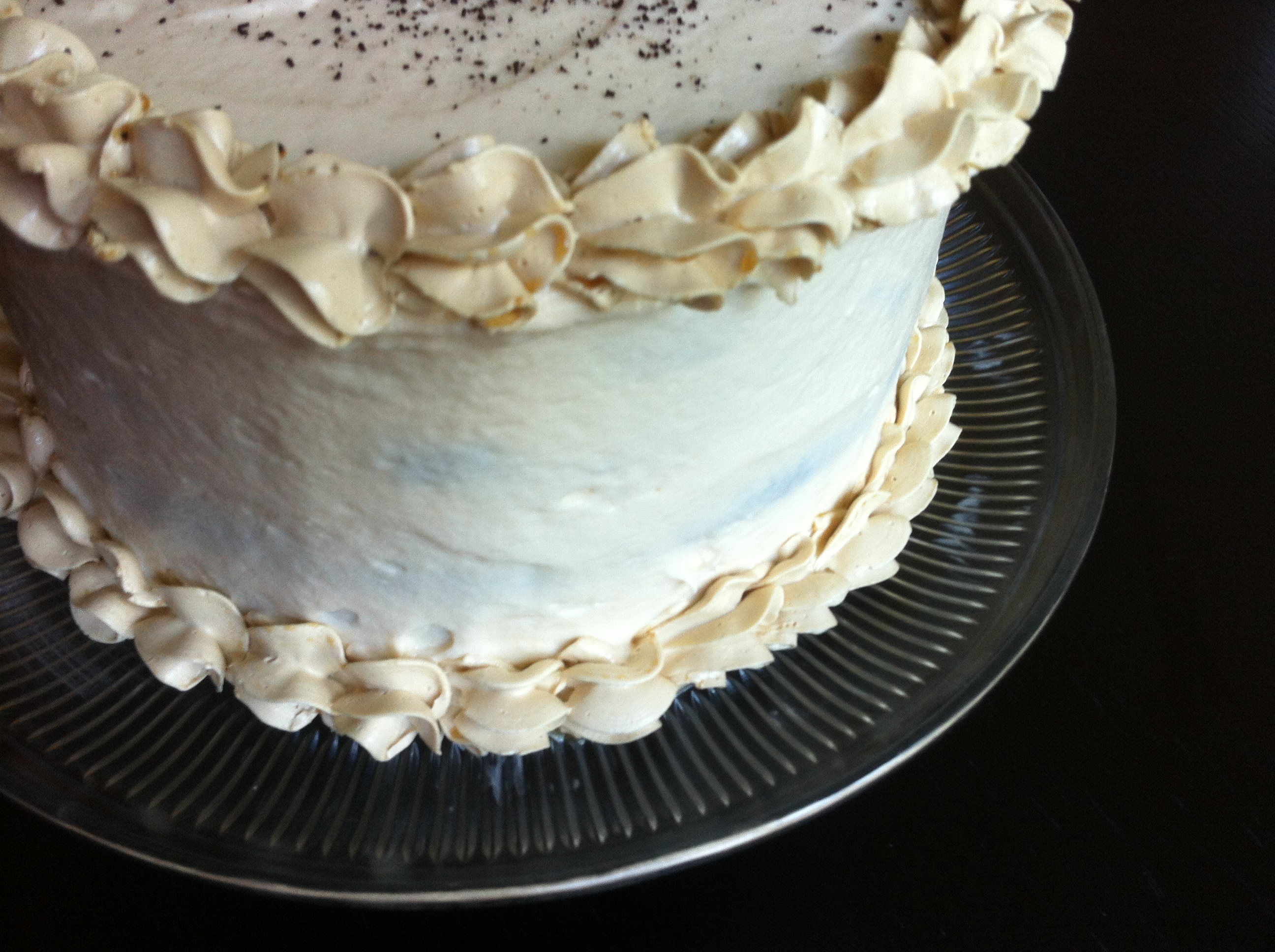Recipe: Gluten-Free Salted Caramel Mocha Cake   Margeaux Vittoria