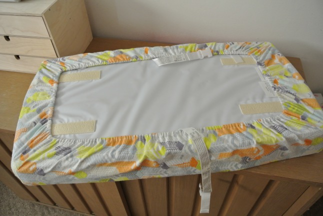 Changing Pad back