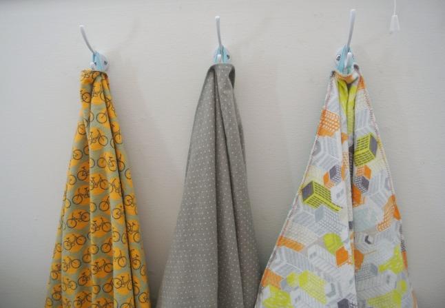 Hanging Blankets Detail