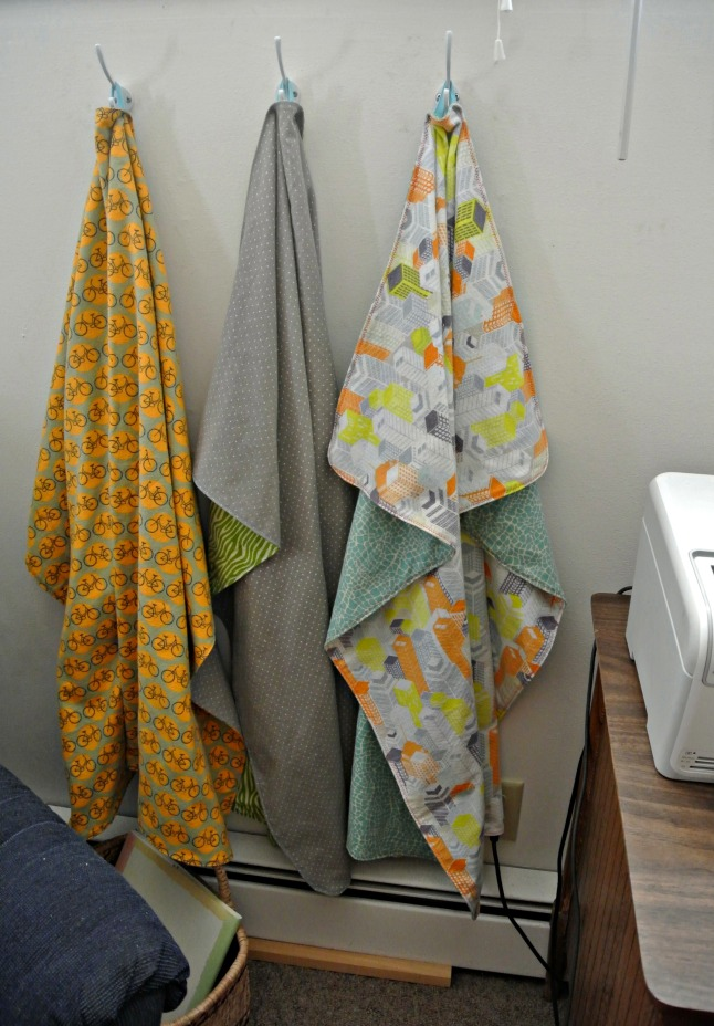 Hanging Blankets