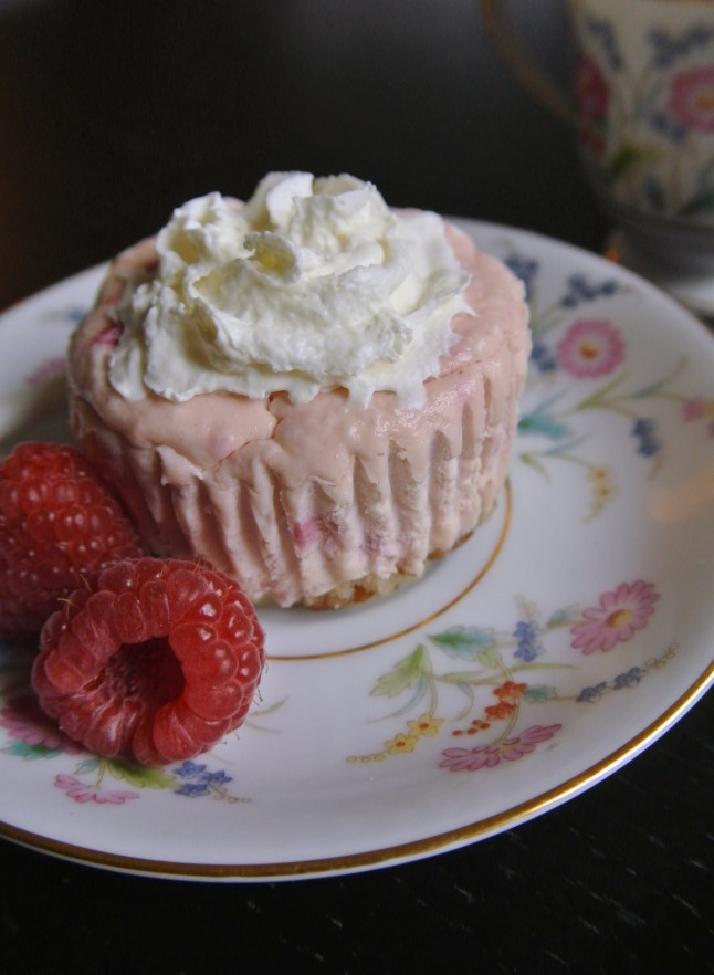 raspberry cheesecakes 2